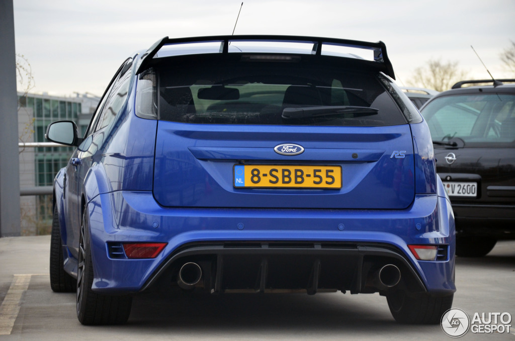 ford focus rs 2009 9 februar 2015 autogespot. Black Bedroom Furniture Sets. Home Design Ideas