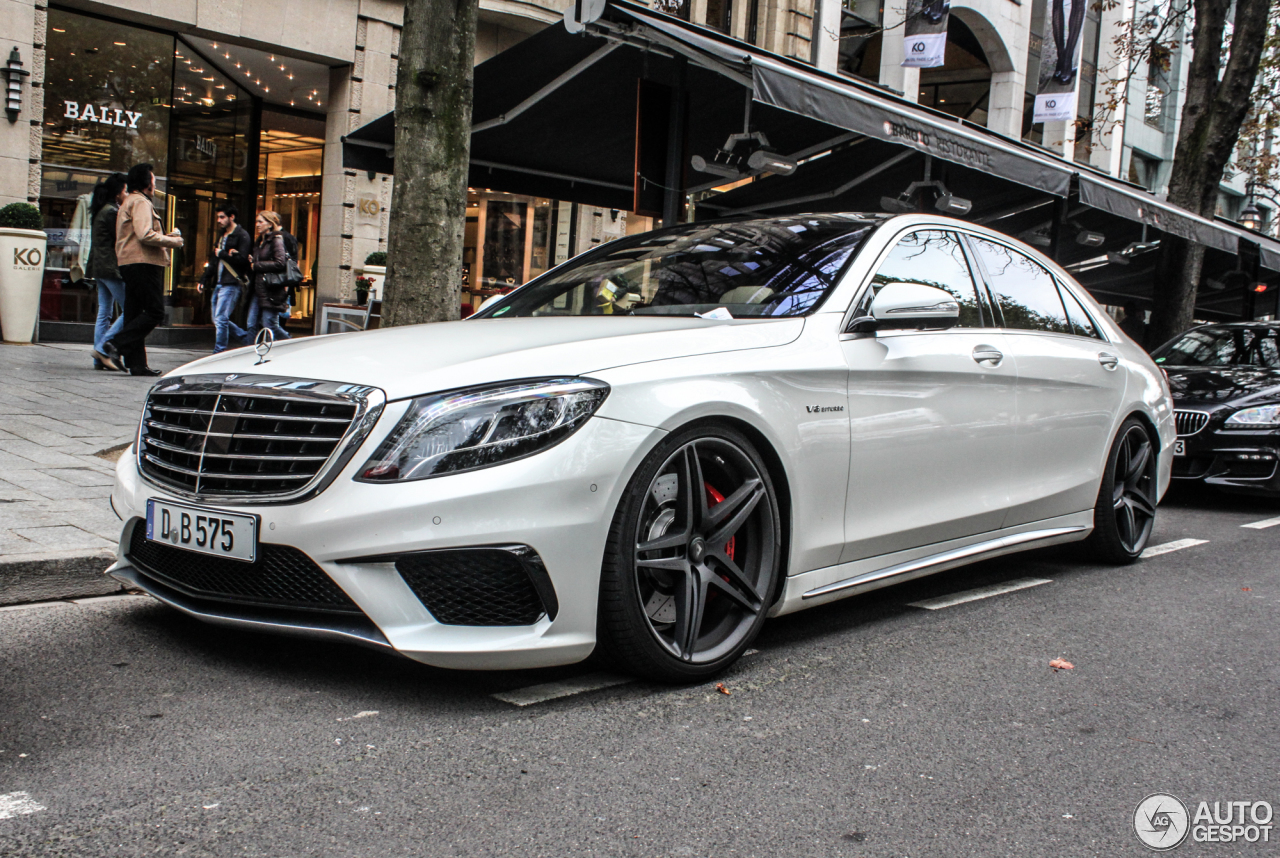Mercedes benz s 63 amg v222 11 februar 2015 autogespot for Mercedes benz s 63 amg