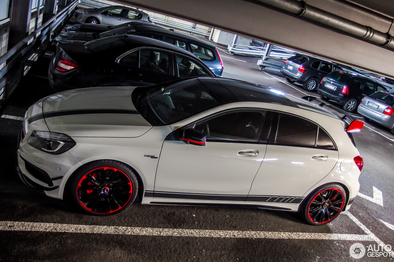 mercedes benz a 45 amg edition 1 12 fvrier 2015 autogespot. Black Bedroom Furniture Sets. Home Design Ideas