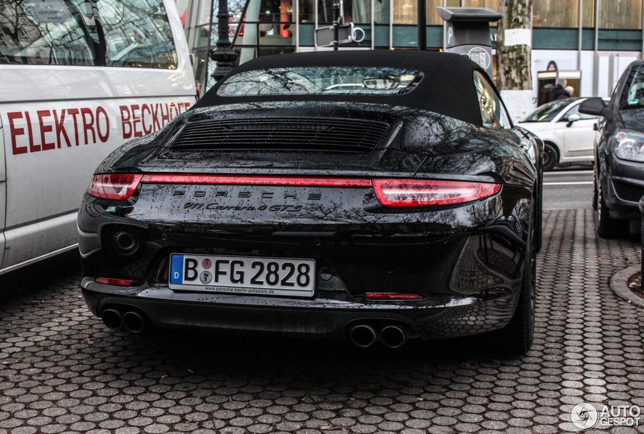 Porsche 991 Carrera 4 Gts Cabriolet 12 February 2015 Autogespot
