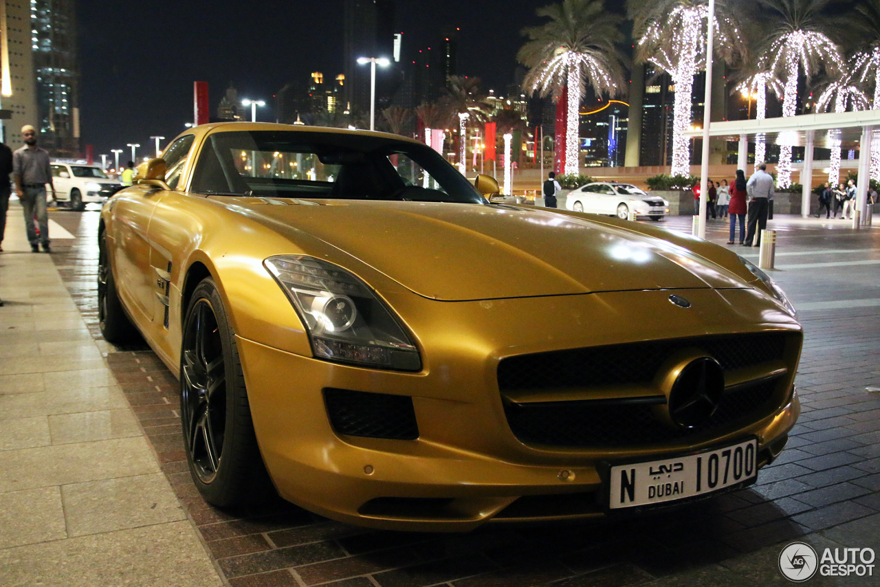 Mercedes benz sls amg desert gold 14 february 2015 for 2015 mercedes benz sls amg