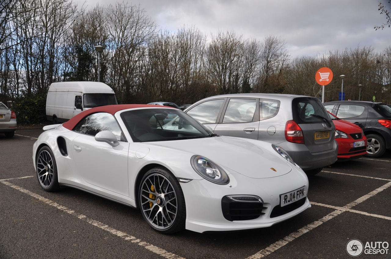 porsche 991 turbo s cabriolet 15 february 2015 autogespot. Black Bedroom Furniture Sets. Home Design Ideas