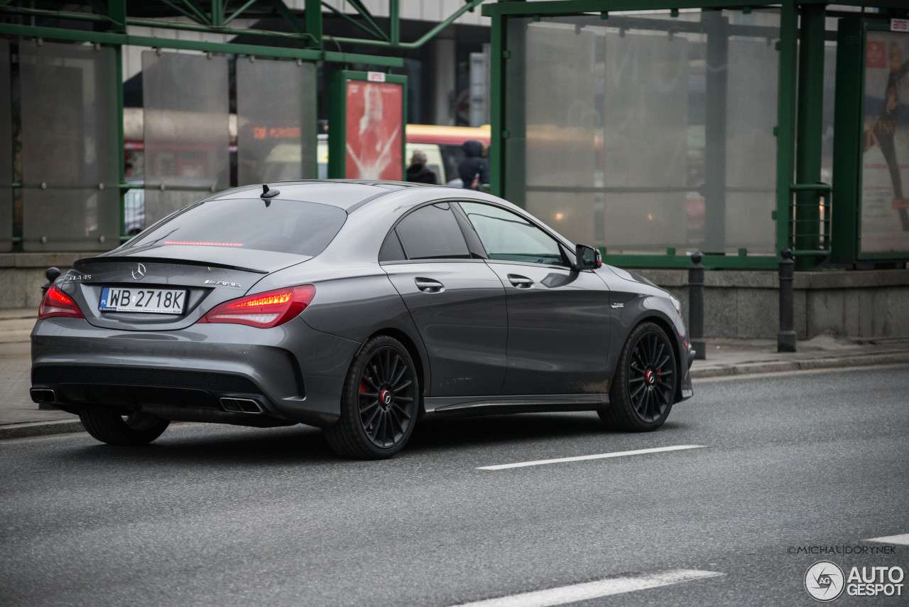 mercedes benz cla 45 amg edition 1 c117 18 february 2015. Black Bedroom Furniture Sets. Home Design Ideas