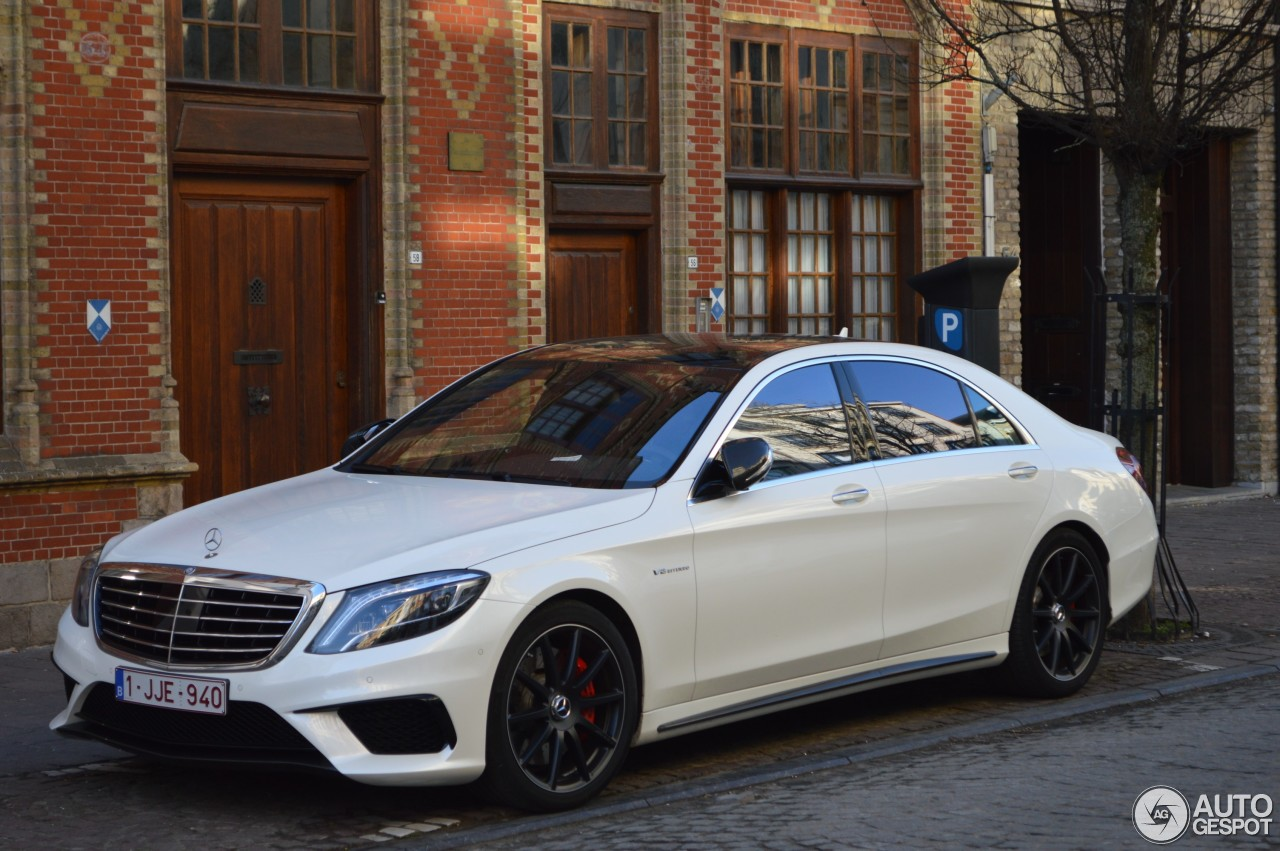 6 I Mercedes Benz S 63 Amg W222