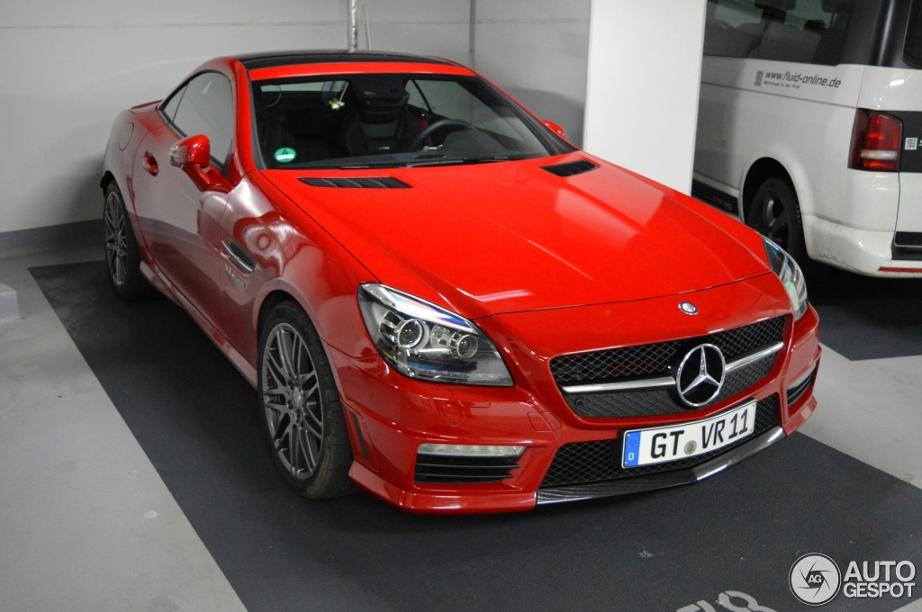 mercedes benz slk 55 amg r172 21 february 2015 autogespot. Black Bedroom Furniture Sets. Home Design Ideas