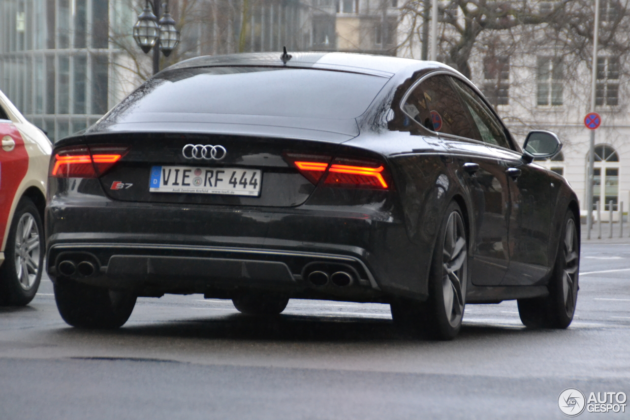 audi s7 sportback 2015 22 februar 2015 autogespot. Black Bedroom Furniture Sets. Home Design Ideas