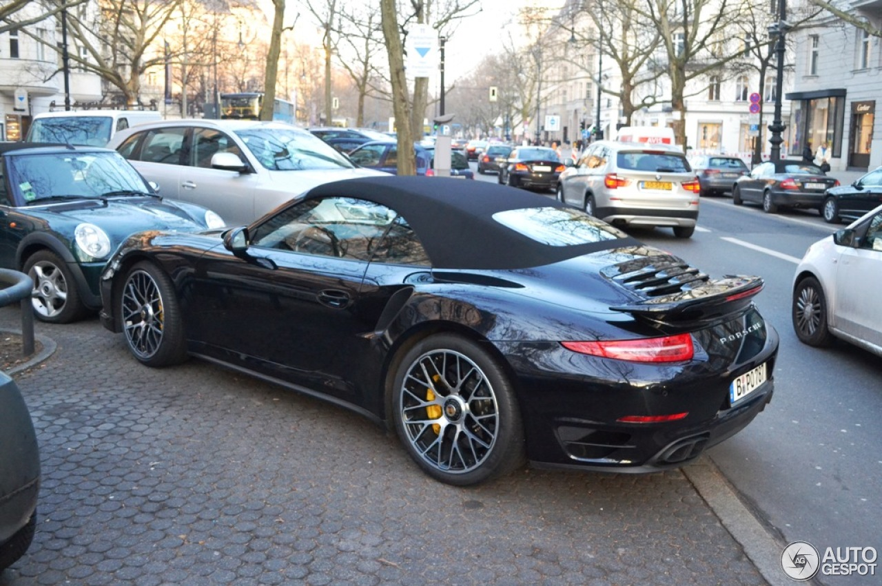 porsche 991 turbo s cabriolet 25 february 2015 autogespot. Black Bedroom Furniture Sets. Home Design Ideas