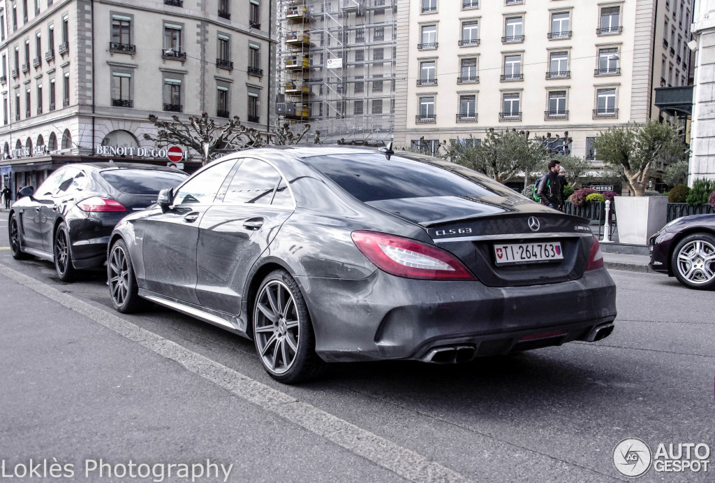 mercedes benz cls 63 amg s c218 2015 26 februar 2015. Black Bedroom Furniture Sets. Home Design Ideas