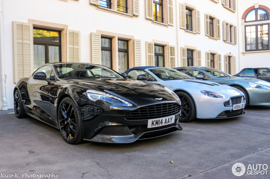 Aston Martin Vanquish Carbon Black Edition February - Black aston martin vanquish