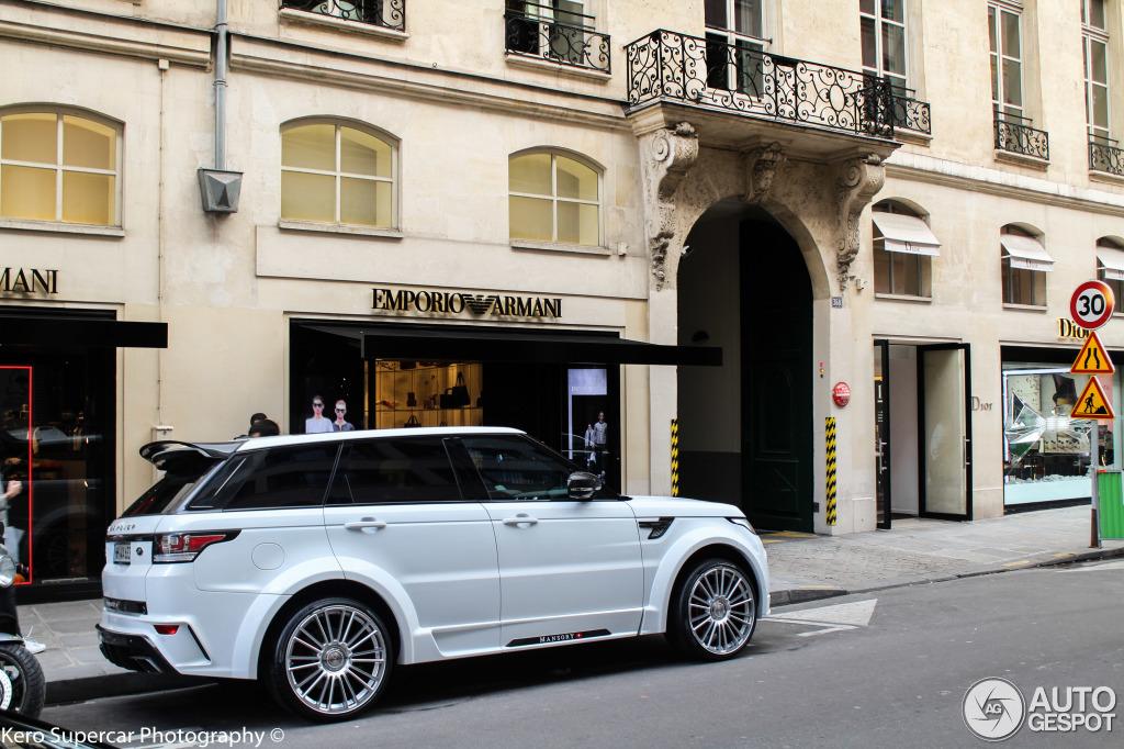 Range Rover Sport 2015 Matte Black >> Land Rover Mansory Range Rover Sport 2013 - 27 February ...
