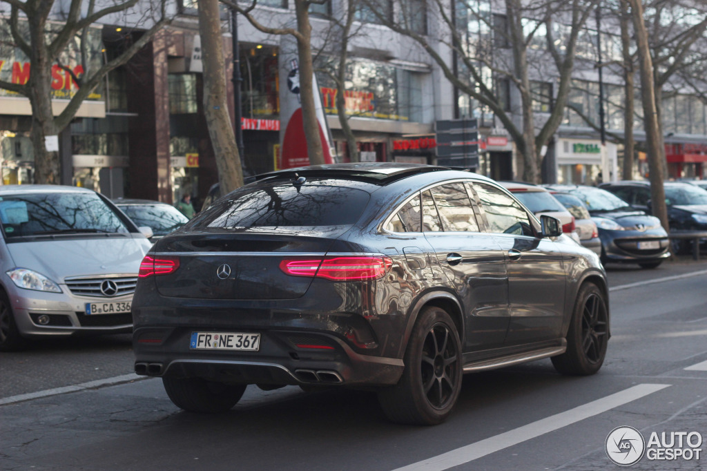 Mercedes Amg Gle 63 Coupe 28 February 2015 Autogespot