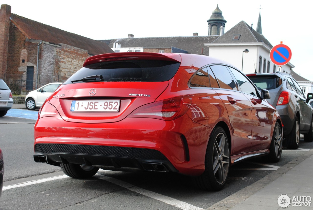 mercedes benz cla 45 amg shooting brake 28 february 2015 autogespot. Black Bedroom Furniture Sets. Home Design Ideas