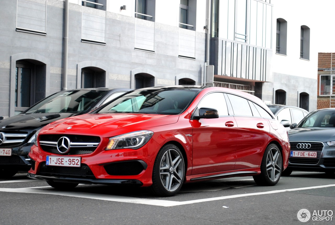 mercedes benz cla 45 amg shooting brake 28 februar 2015 autogespot. Black Bedroom Furniture Sets. Home Design Ideas