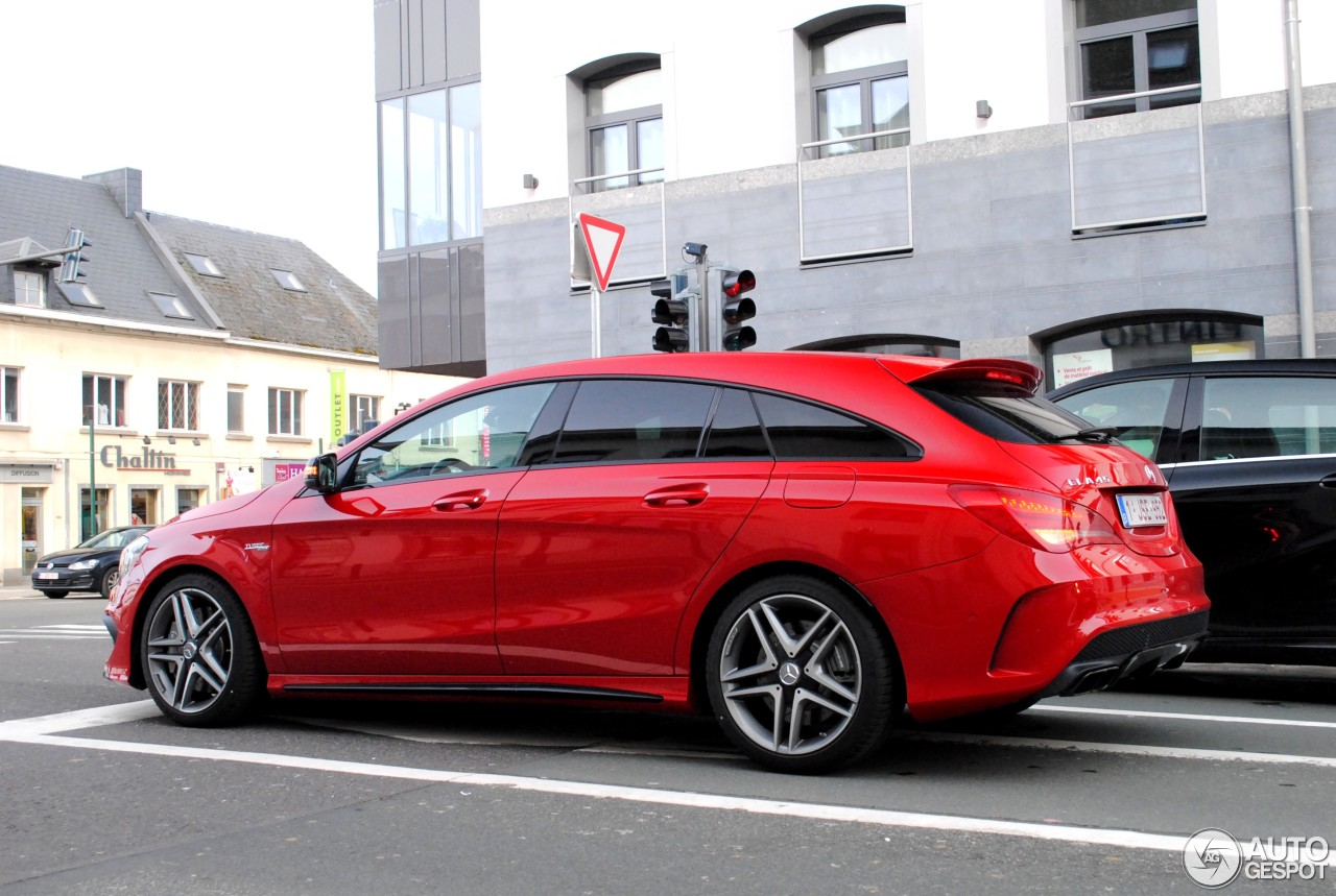 Mercedes benz cla 45 amg shooting brake 28 february 2015 for Mercedes benz cla 250 amg price