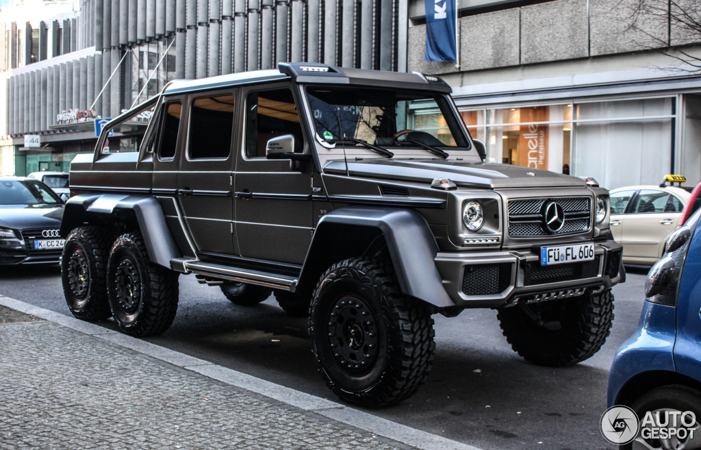 mercedes benz g 63 amg 6x6 28 february 2015 autogespot. Black Bedroom Furniture Sets. Home Design Ideas