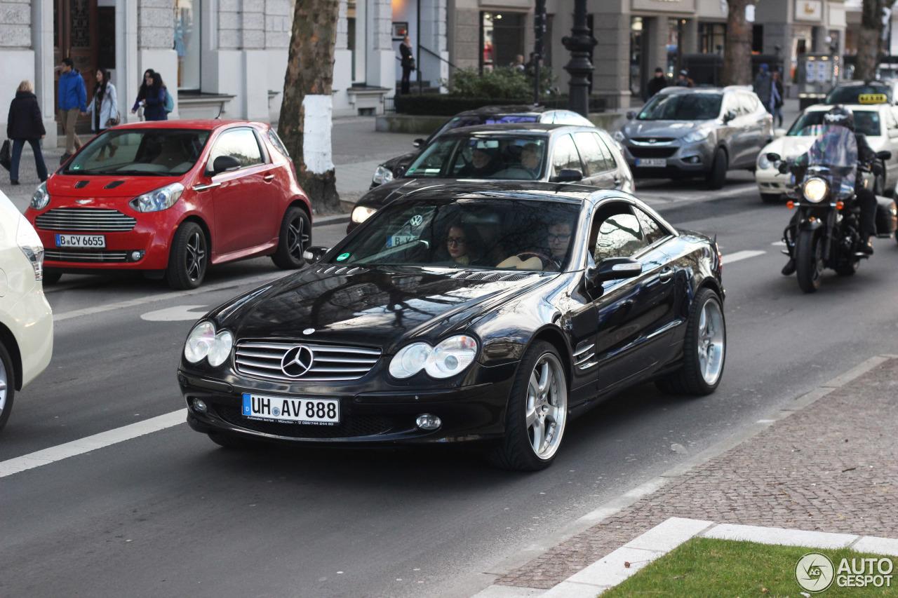Mercedes benz sl 600 r230 28 februar 2015 autogespot for Mercedes benz c 600