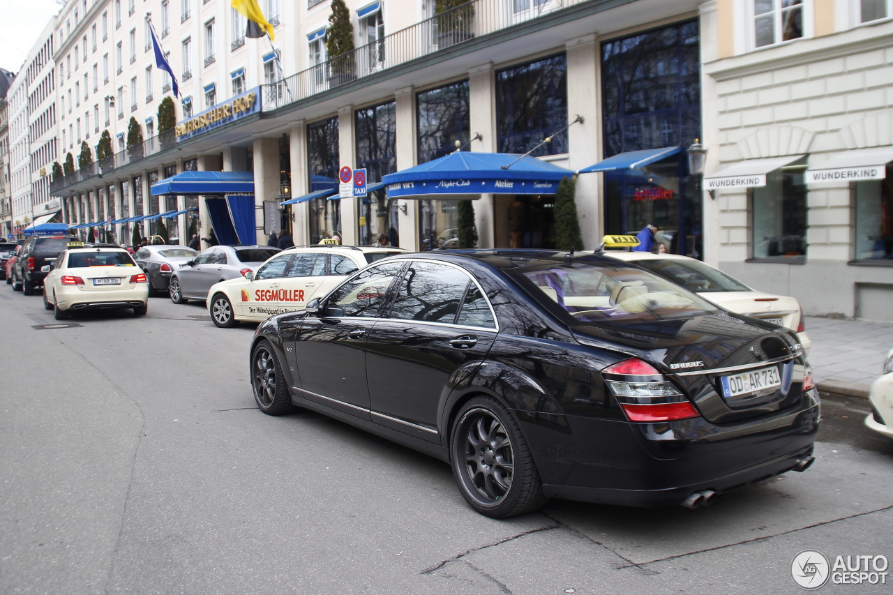 Mercedes benz brabus sv12 s limousine 1 march 2015 for Mercedes benz limousine price