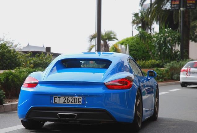 Porsche Cayman S 2013 Moncenisio Studiotorino