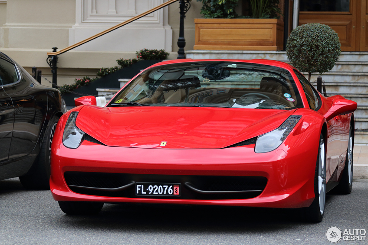 ferrari 458 spider 2 march 2015 autogespot. Black Bedroom Furniture Sets. Home Design Ideas