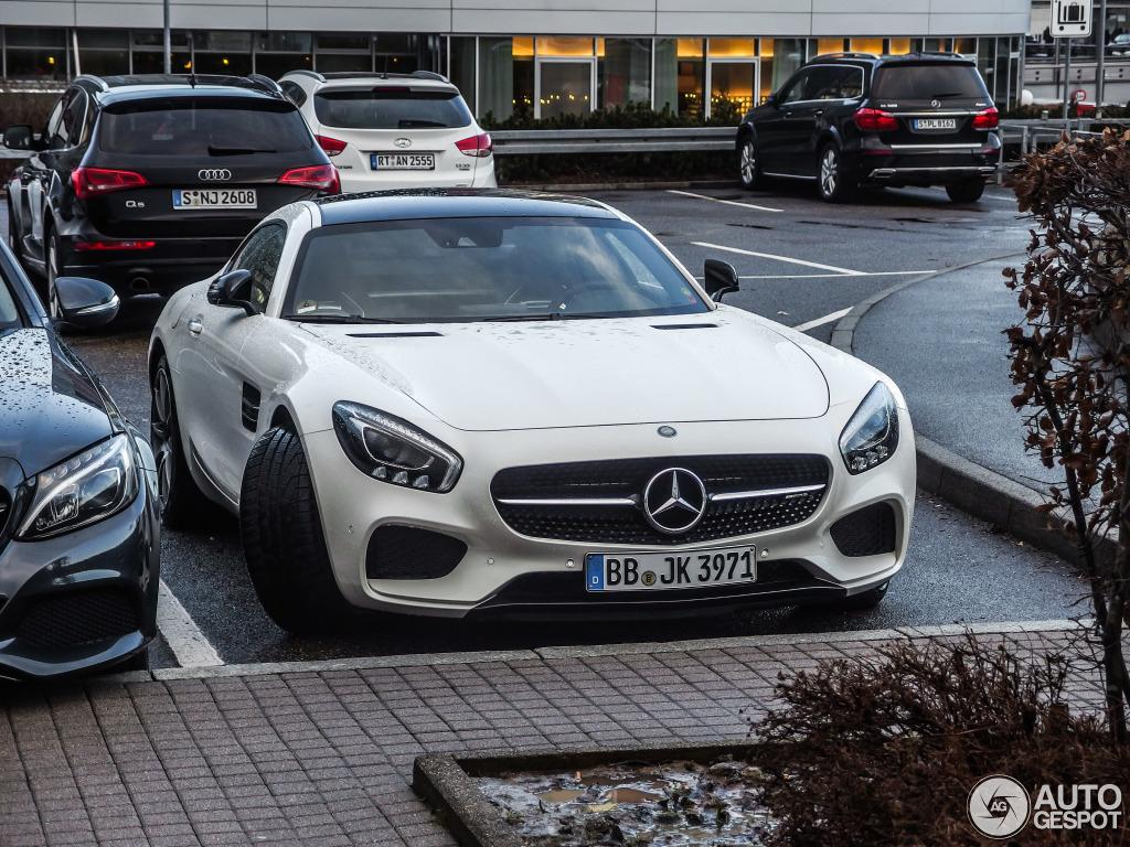 Mercedes amg weiß