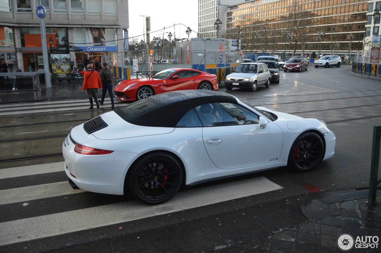 Porsche 991 Carrera Gts Cabriolet 2 March 2015 Autogespot
