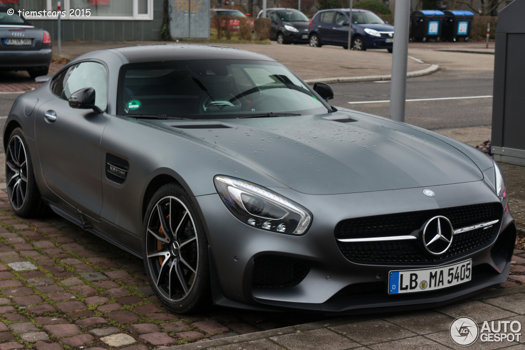 Mercedes Amg Gt S Edition 1 3 Mars 2015 Autogespot