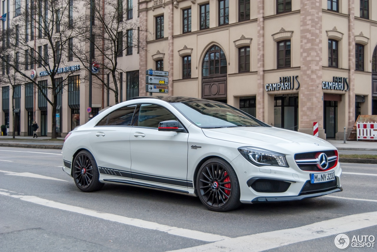 Mercedes Benz Cla 45 Amg Edition 1 C117 3 March 2015
