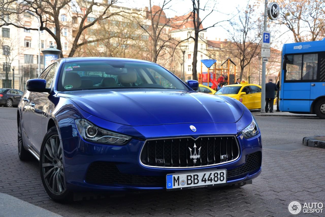 Maserati Ghibli S Q4 2013 4 Marzo 2015 Autogespot
