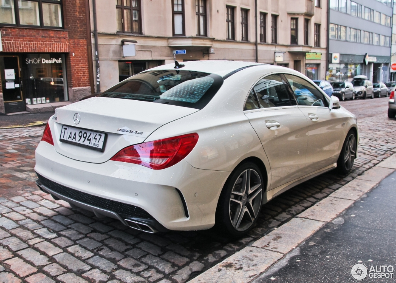mercedes benz cla 45 amg c117 4 mars 2015 autogespot. Black Bedroom Furniture Sets. Home Design Ideas