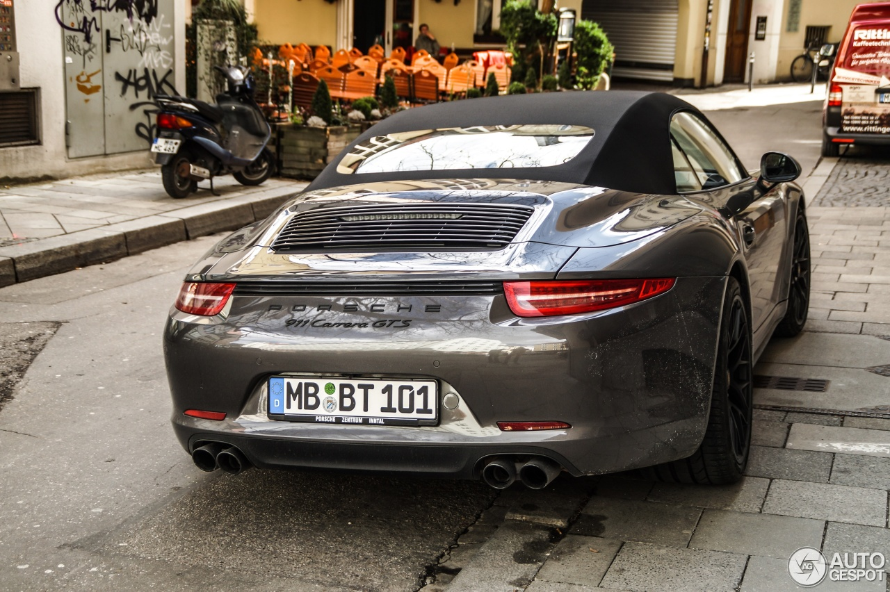 porsche 991 carrera gts cabriolet 4 march 2015 autogespot. Black Bedroom Furniture Sets. Home Design Ideas