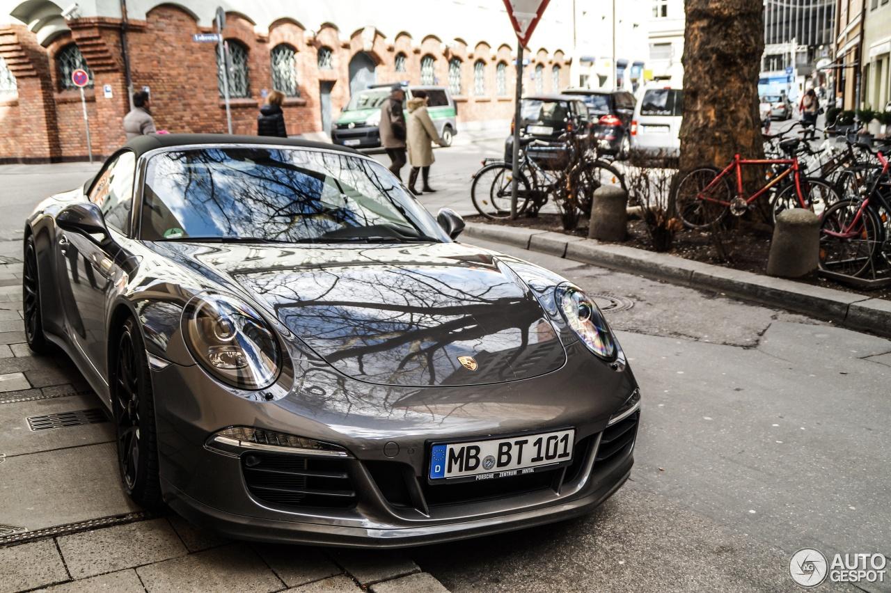 Porsche 991 Carrera Gts Cabriolet 4 Mrz 2015 Autogespot
