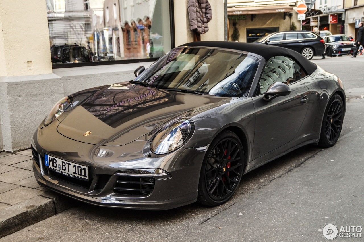 porsche 991 carrera gts cabriolet 4 mars 2015 autogespot. Black Bedroom Furniture Sets. Home Design Ideas