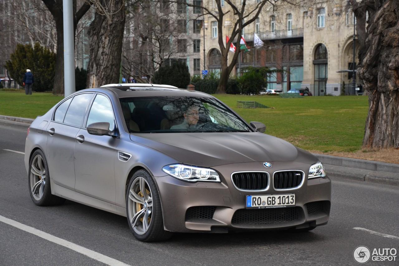 BMW M5 F10 2014 - 5 March 2015 - Autogespot