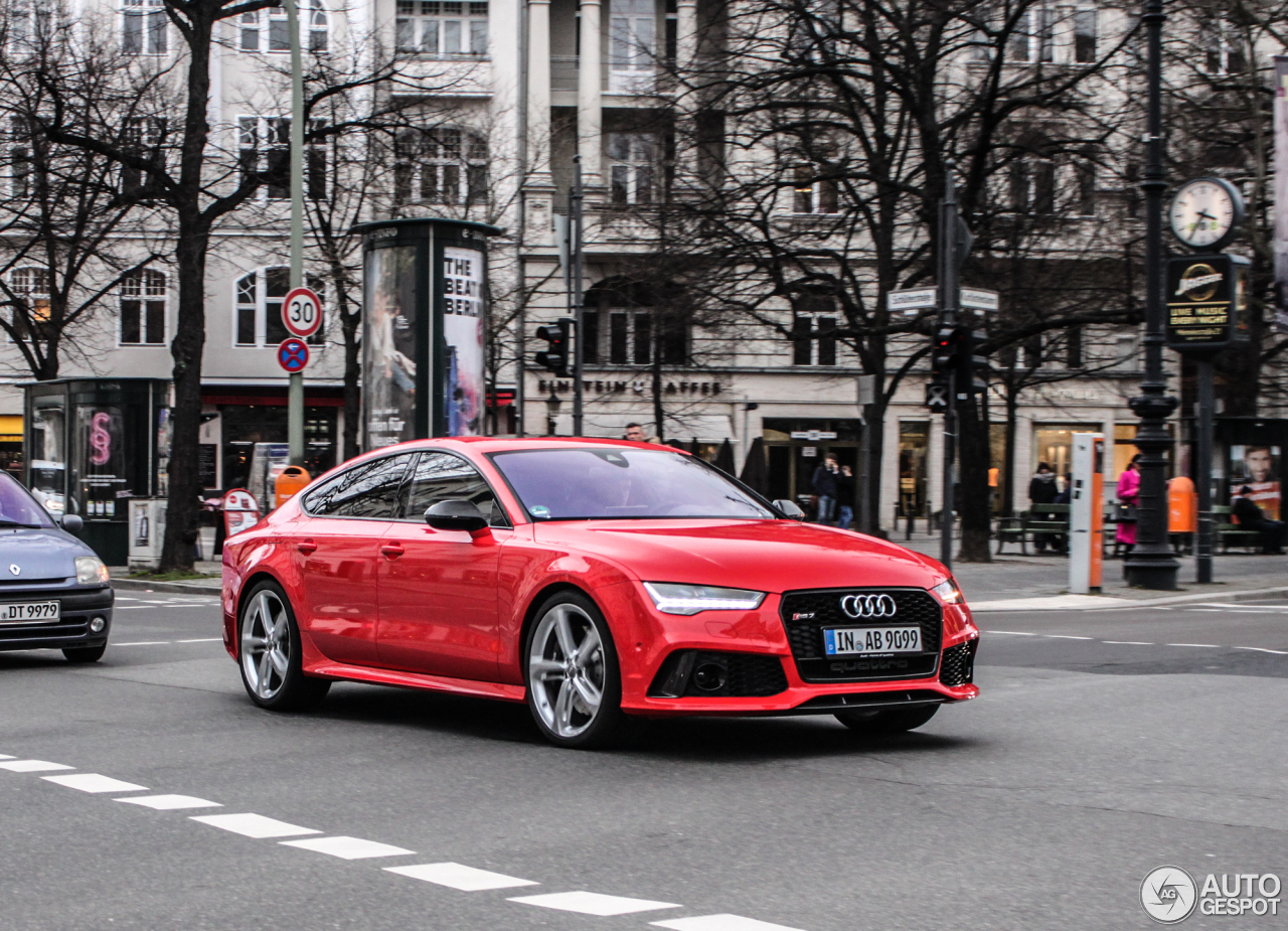 audi rs7 sportback 2015 7 march 2015 autogespot. Black Bedroom Furniture Sets. Home Design Ideas