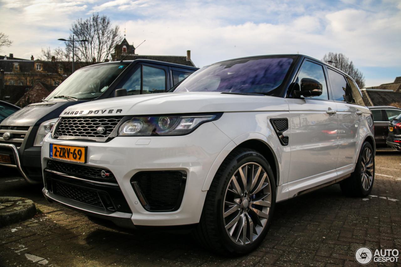 Land Rover Range Rover Sport Svr 7 Maart 2015 Autogespot