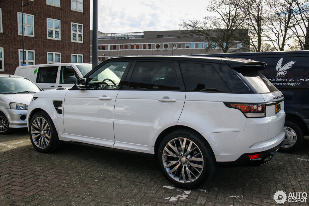 Land Rover Range Rover Sport Svr 7 March 2015 Autogespot