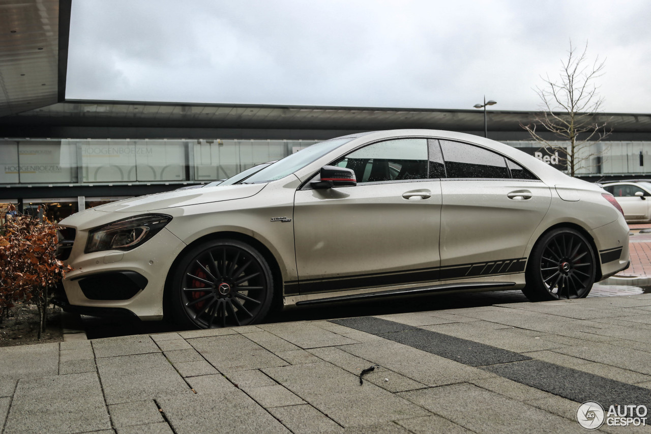 mercedes benz cla 45 amg edition 1 c117 7 march 2015 autogespot. Black Bedroom Furniture Sets. Home Design Ideas