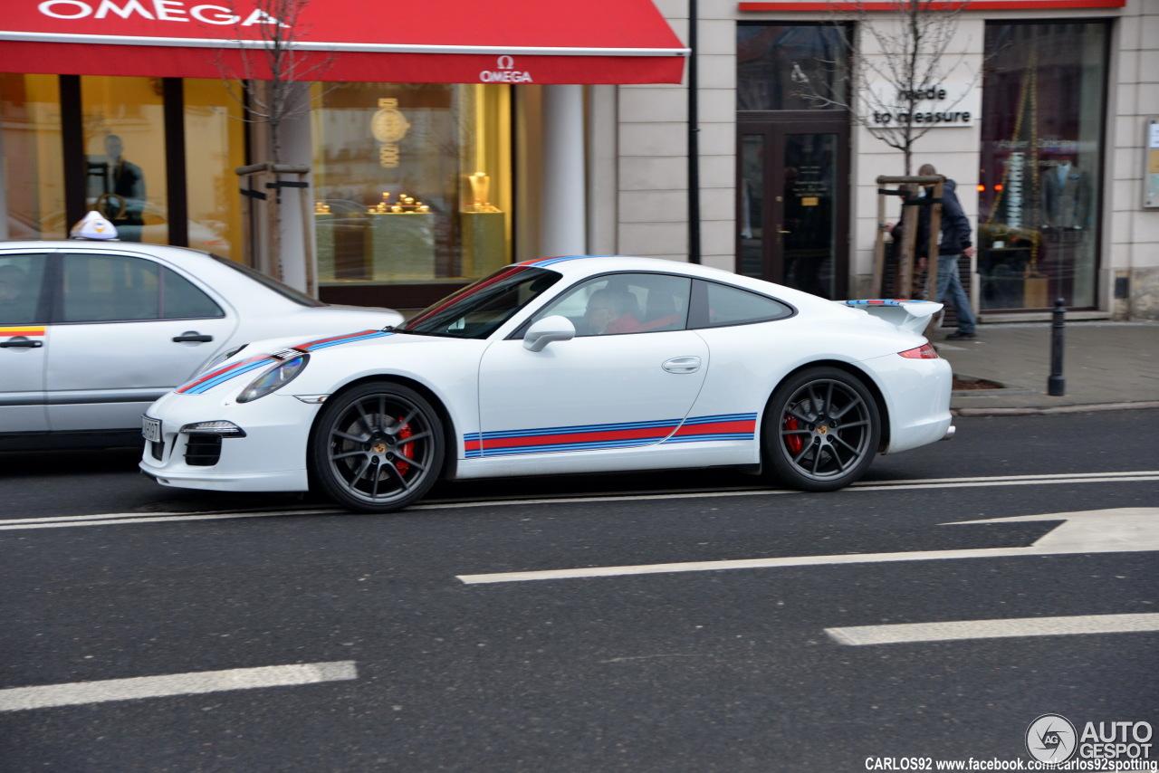 Porsche 991 Carrera S Martini Racing Edition 7 Mrz 2015