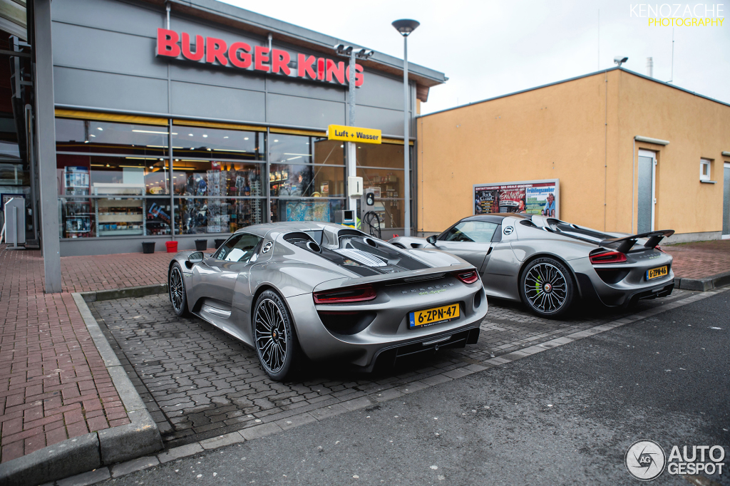 porsche 918 spyder weissach package 8 march 2015 autogespot. Black Bedroom Furniture Sets. Home Design Ideas