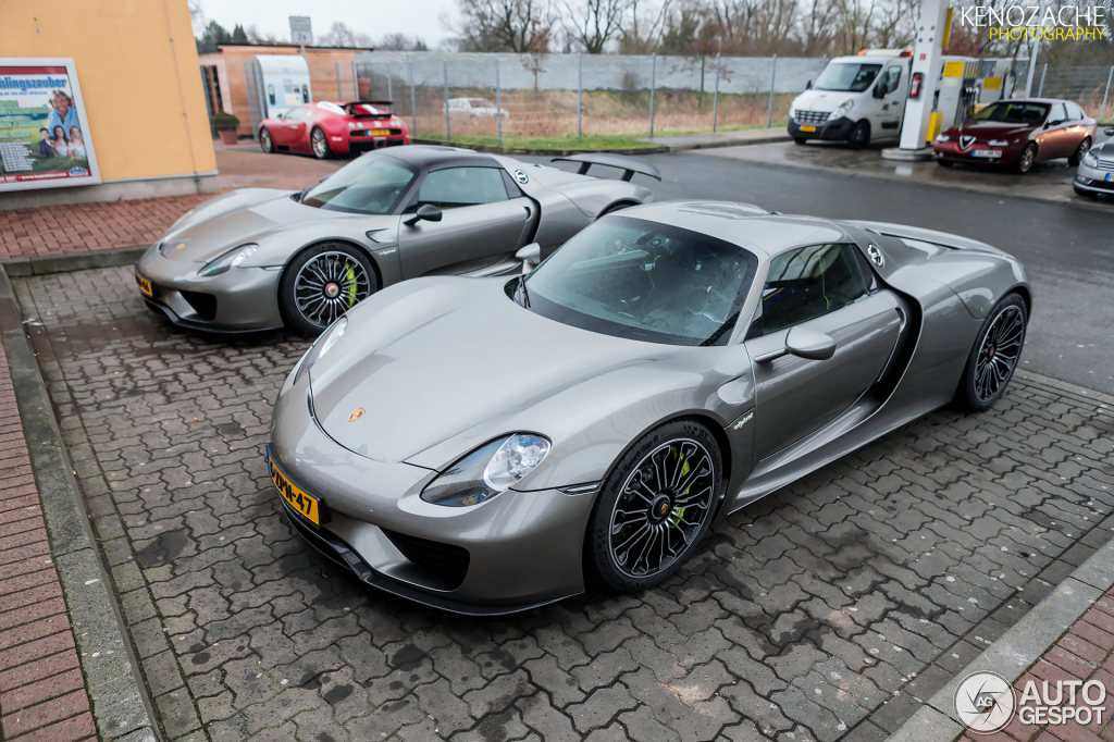 porsche 918 spyder weissach package 8 maart 2015 autogespot. Black Bedroom Furniture Sets. Home Design Ideas