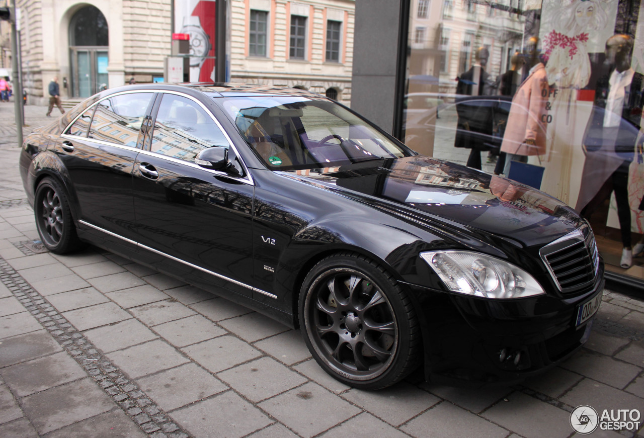 Mercedes benz brabus sv12 s limousine 10 march 2015 for Mercedes benz limousine price