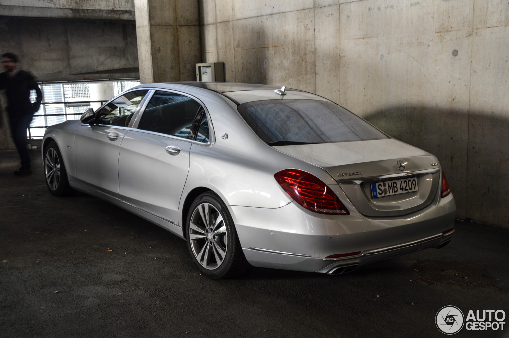 Mercedes Maybach S600 10 March 2015 Autogespot
