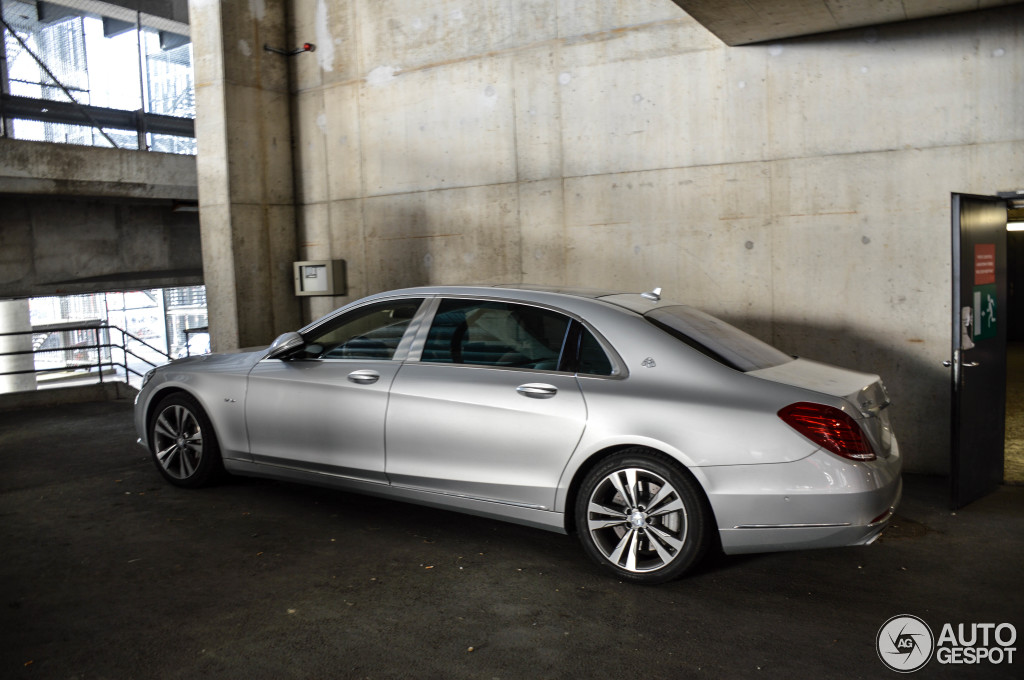 Mercedes maybach s600 10 march 2015 autogespot for 2008 mercedes benz s600 for sale