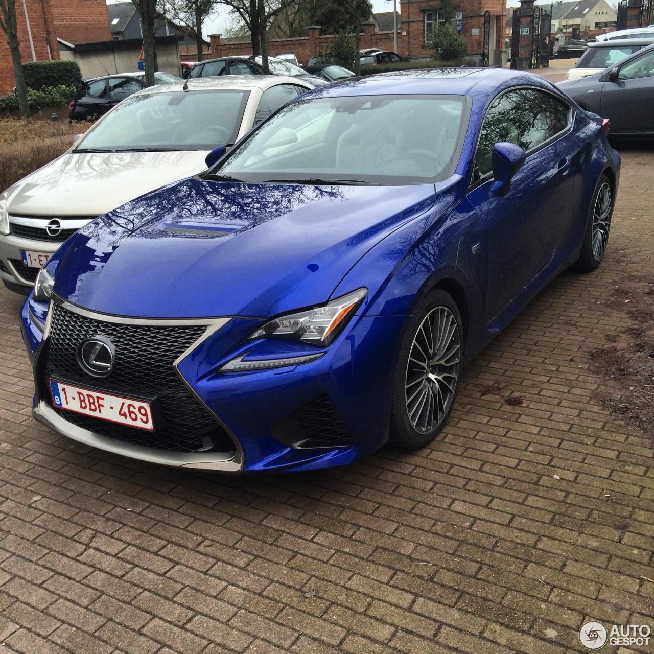 2015 Lexus Rc Suspension: 11 March 2015