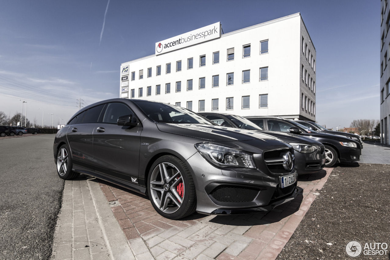 mercedes benz cla 45 amg shooting brake 14 mrz 2015 autogespot. Black Bedroom Furniture Sets. Home Design Ideas