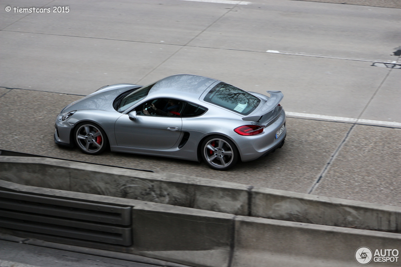 Porsche 981 Cayman GT4 - 14 March 2015 - Autogespot