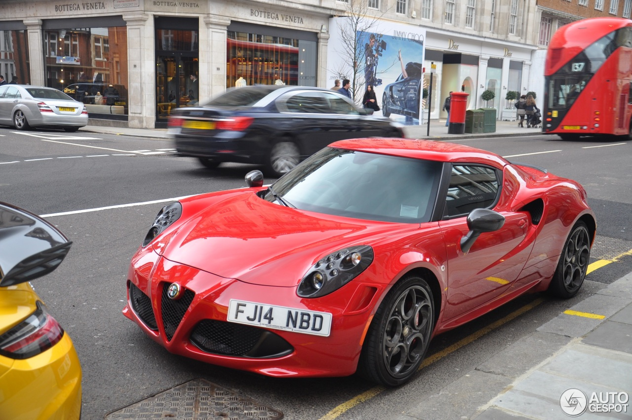 alfa romeo 4c launch edition 15 march 2015 autogespot. Black Bedroom Furniture Sets. Home Design Ideas