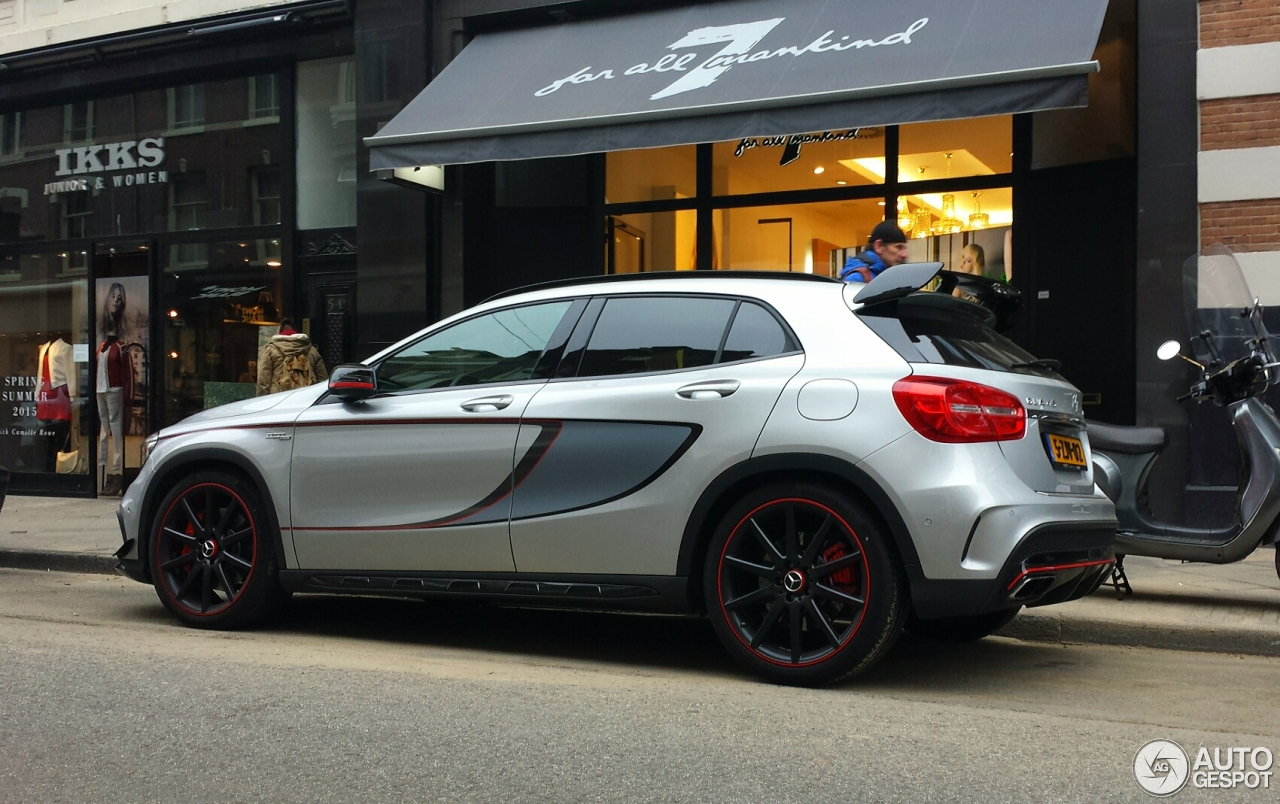 mercedes benz gla 45 amg edition 1 15 march 2015 autogespot. Black Bedroom Furniture Sets. Home Design Ideas
