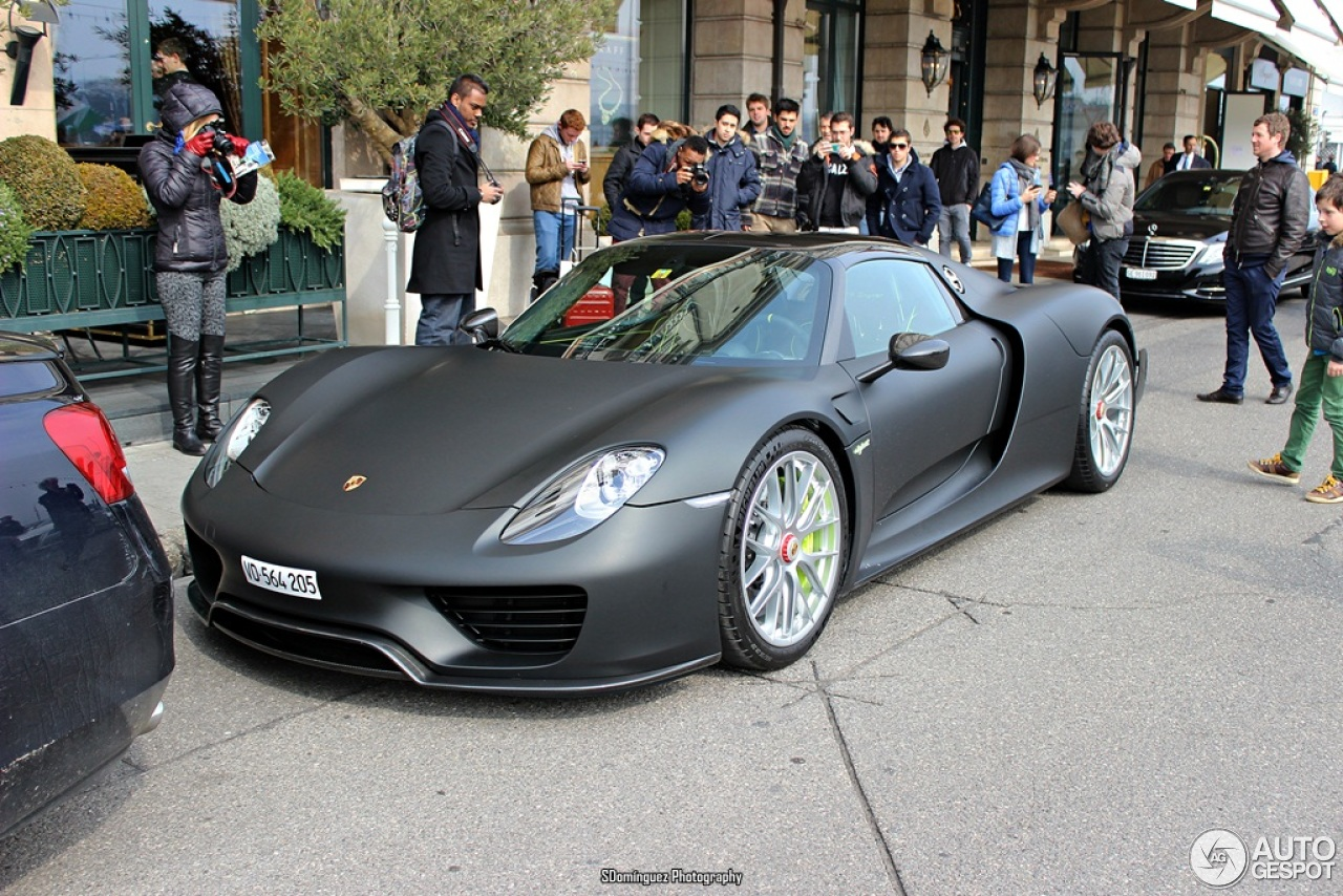 Porsche 918 Spyder Weissach Package 15 March 2015