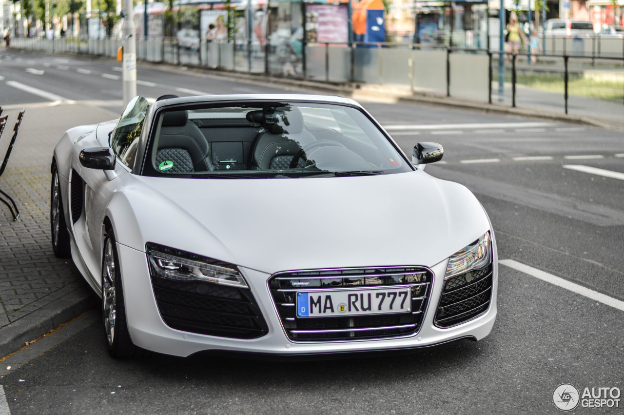 Audi R8 V10 Spyder 2013 16 March 2015 Autogespot